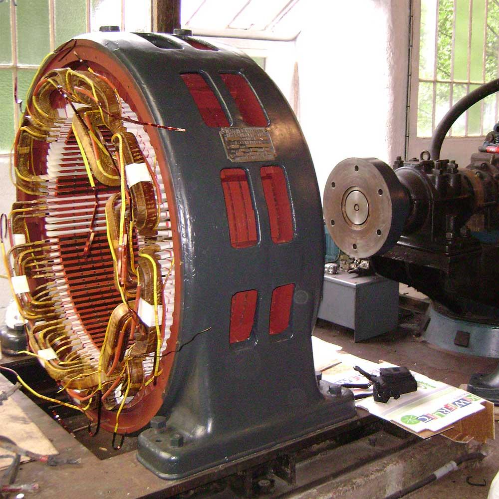 Poirson, rebobinage de moteur électrique